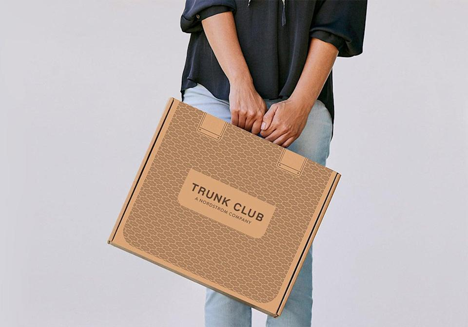 """<p>I was initially struck by the cute suitcase-inspired box that my <a href=""""https://www.popsugar.com/buy?url=https%3A%2F%2Fwww.trunkclub.com%2Fhome&p_name=Nordstrom%20Trunk%20Club&retailer=trunkclub.com&evar1=fab%3Aus&evar9=47518852&evar98=https%3A%2F%2Fwww.popsugar.com%2Fphoto-gallery%2F47518852%2Fimage%2F47518857%2FHow-Nordstrom-Trunk-Club-Is-Packaged-Arrives&list1=reviews%2Cshopping%2Cnordstrom%2Ceditors%20pick%2Cproduct%20reviews%2Csubscription%20boxes%2Cfashion%20shopping%2Cstaying%20home&prop13=api&pdata=1"""" class=""""link rapid-noclick-resp"""" rel=""""nofollow noopener"""" target=""""_blank"""" data-ylk=""""slk:Nordstrom Trunk Club"""">Nordstrom Trunk Club</a> arrived in.</p>"""