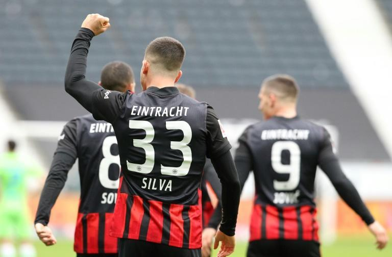 Andre Silva is firing Eintracht Frankfurt towards a place in the Champions League