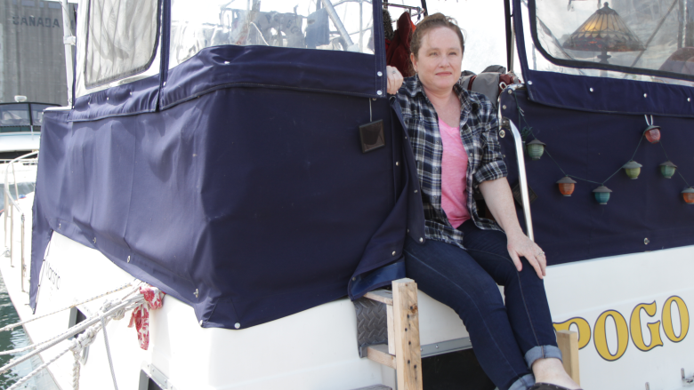 These residents keep afloat in Toronto's hot housing market — by living on a boat
