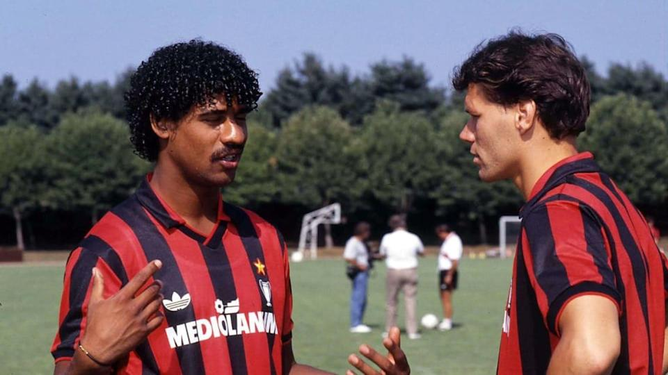Rijkaard e Van Basten | Alessandro Sabattini/Getty Images