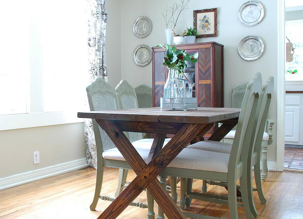 13 seriously doable ways to diy a kitchen table for Furniture xo out of business