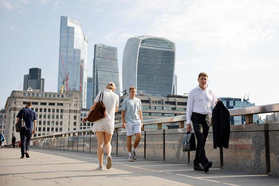 More staff are expected to return to offices in September 2021  (AFP via Getty Images)