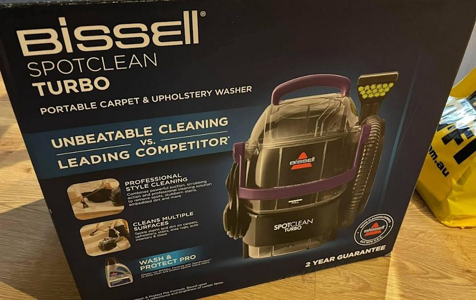 Bissell Spot clean turbo. Source: Facebook