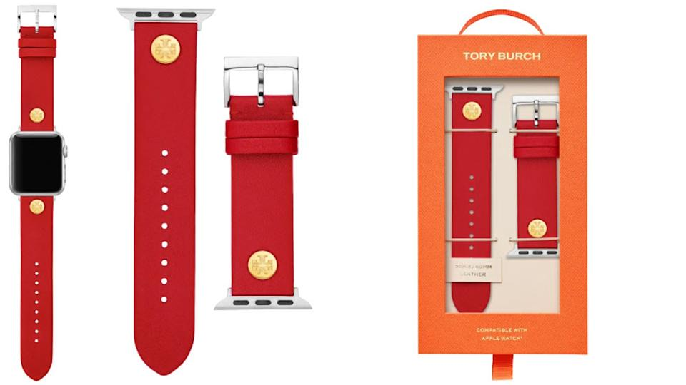 Tory Burch Leather Strap for Apple Watch - Nordstrom. $66.50 (originally $95)
