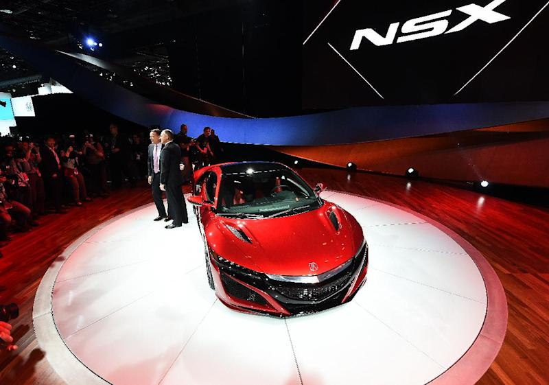 Acura Reveals Its New Nsx At The North American International Auto Show In Detroit Michigan