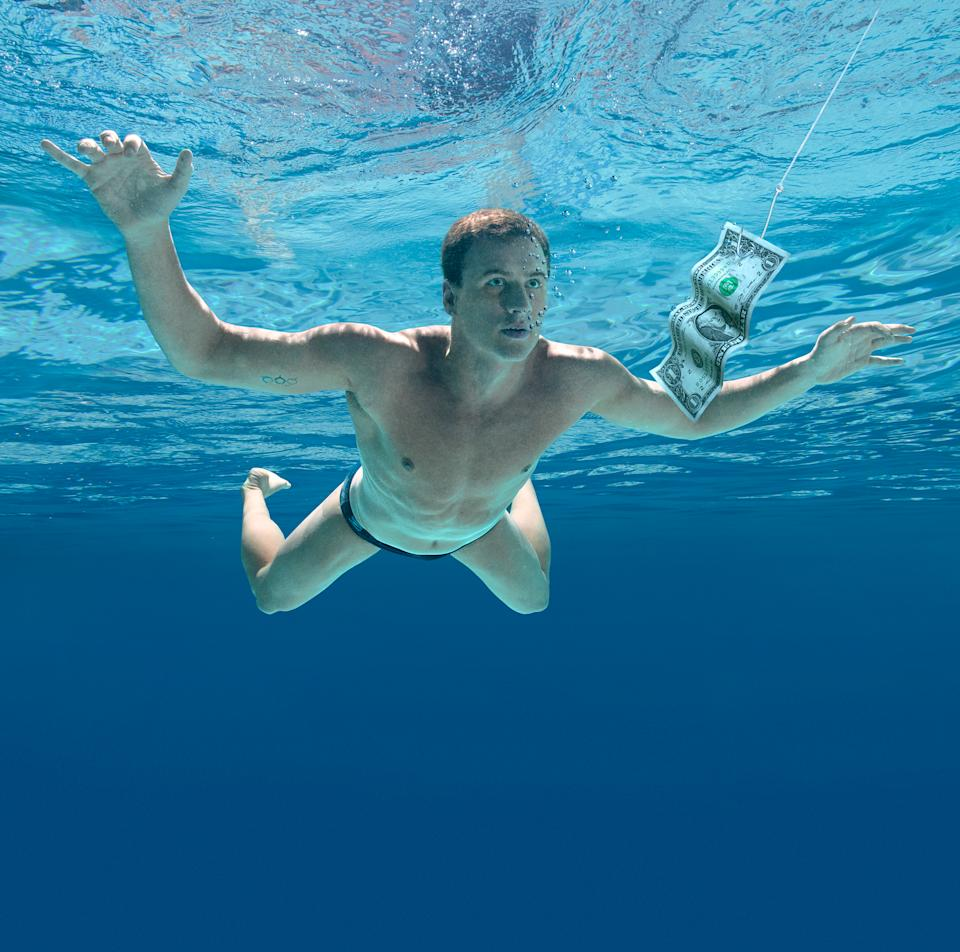 "Ryan Locthe as Nirvana's ""Nevermind"" (ESPN The Magazine)"