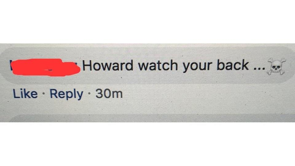 Threat to Howard