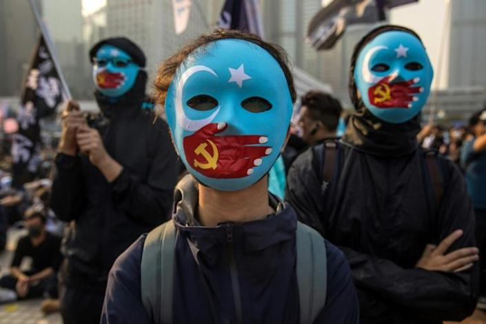 Rights groups believe that at least one million Uighurs and other Turkic-speaking Muslims are incarcerated in camps in the western region of Xinjiang