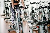 """<p>If you've dusted off your spin bike and are now peddling your way to fitness this summer, take note. The majority of spin classes claim to burn anywhere from 400 to 600 calories in a 45-minute class. The harder you work – and the higher that resistance – the more you'll burn. So, it goes without saying that you will need some energy to in the bank in order to push yourself.</p><p>James Pisano at Sweat by BXR (<a href=""""https://www.instagram.com/jpisano_pt/?hl=en"""" rel=""""nofollow noopener"""" target=""""_blank"""" data-ylk=""""slk:@jpisano_pt"""" class=""""link rapid-noclick-resp"""">@jpisano_pt</a>) advises a baked sweet potato with an avocado salad of tomatoes, fresh spinach, pine nuts and olive oil, a fruit smoothie or a cold press juice. All of these should offer adequate sustenance and carbs, when taken into consideration with the other meals and snacks you've eaten across the course of the day.</p><p>'Remember when worrying about pre-workout meals that when you eat is also crucial. Always eat an hour before, if not more,' he shares. </p>"""