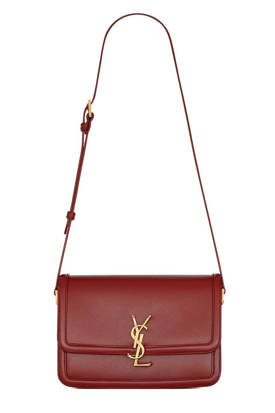 "<p>If you're looking for your next *forever* crossbody, i.e. the bag you'll wear for the rest of your life, look to Saint Laurent's newest style. The Solferino combines heritage with modernity for a look that's both 'stolen from your mother's closet' <em>and</em> fresh off the runway.</p><p><em>Saint Laurent $2,800, ysl.com</em></p><p><a class=""link rapid-noclick-resp"" href=""https://go.redirectingat.com?id=74968X1596630&url=https%3A%2F%2Fwww.ysl.com%2Fus%2Fshop-product%2Fwomen%2Fhandbags-monogramme-satchel-solferino-medium-satchel-in-box-saint-laurent-leather_cod45520614cp.html%23dept%3Dwomen_bags_lines_solferino&sref=https%3A%2F%2Fwww.elle.com%2Ffashion%2Fshopping%2Fg33416567%2Fdesigner-it-bags-pre-fall-2021%2F"" rel=""nofollow noopener"" target=""_blank"" data-ylk=""slk:SHOP NOW"">SHOP NOW</a></p>"