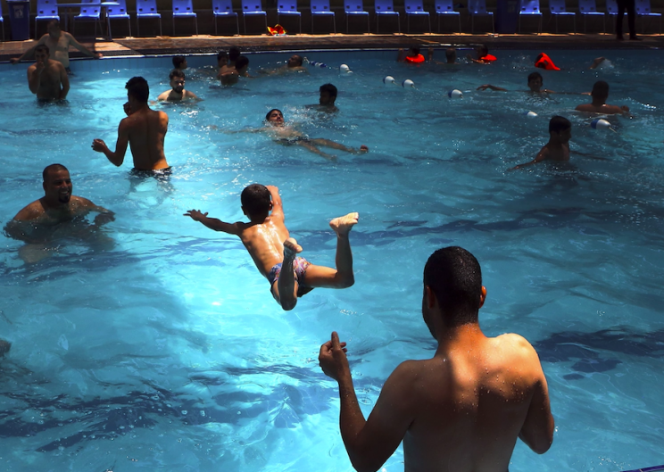 Olympic Sized pool could contain 50 gallons of urine: Study says