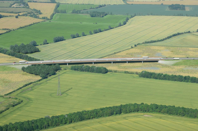 The Lower Thames Crossing will form a new 14.3 mile road, with a speed limit of 70 mph (SWNS)