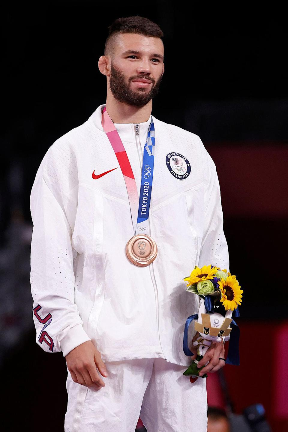 <p>Biography: 27 years old</p> <p>Event: Men's 57kg wrestling</p>