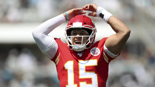 Back-to-back MVPs for Patrick Mahomes? So far, he's on pace to match his brilliant 2018 season. (AP)