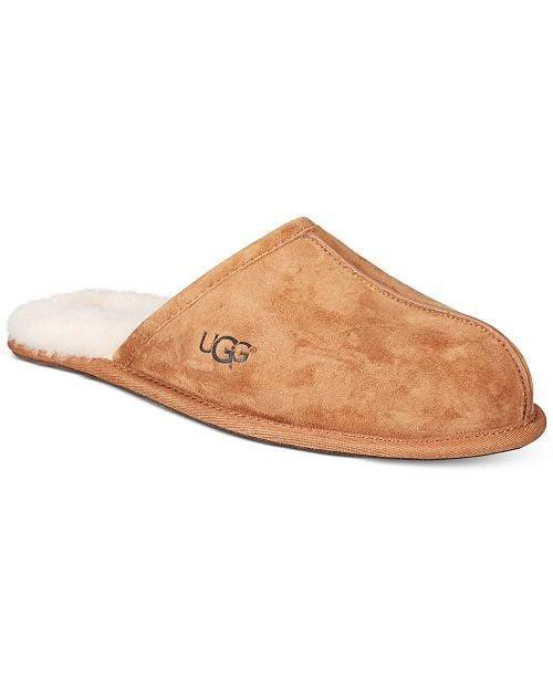 <p>These cozy <span>UGG Men's Scuff Slippers</span> ($80) will be beloved.</p>