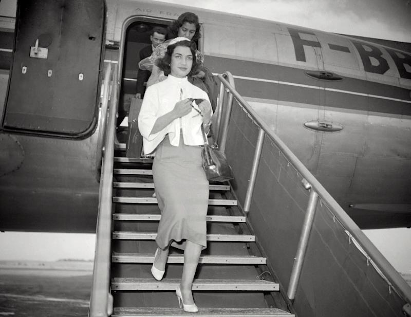 Picture taken in the 1950's shows Princess Ashraf Pahlavi, the twin sister of the last shah ofIran, who was widely regarded as a talented diplomat and headed the Iranian delegation to the UN General Assembly for more than a decade