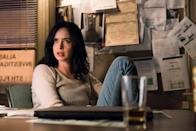 """<p>Prickly P.I. Jessica Jones effortlessly kicks criminal butt with her superhuman strength as she processes her troubled past. Along the way, she develops passionate, complicated relationships with men like Luke Cage and Oscar Arocho. </p> <p><a href=""""http://www.netflix.com/title/80002311"""" class=""""link rapid-noclick-resp"""" rel=""""nofollow noopener"""" target=""""_blank"""" data-ylk=""""slk:Watch Jessica Jones on Netflix now"""">Watch <strong>Jessica Jones</strong> on Netflix now</a>.</p>"""