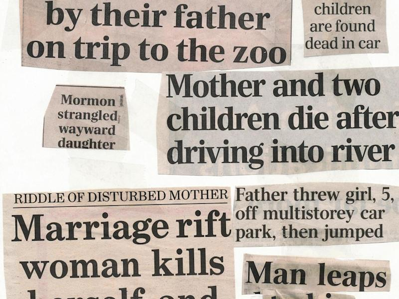 Newspapers offer lurid headlines on the act, but rarely shed light on motive
