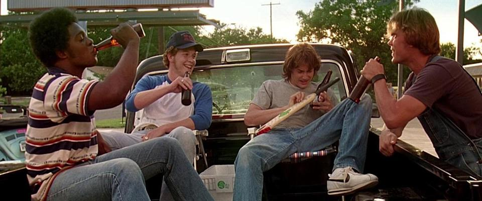 Linklater also captured another era of his childhood (the 80s) in 2015's 'Everybody Wants Some!!). (Credit: Gramercy Pictures)