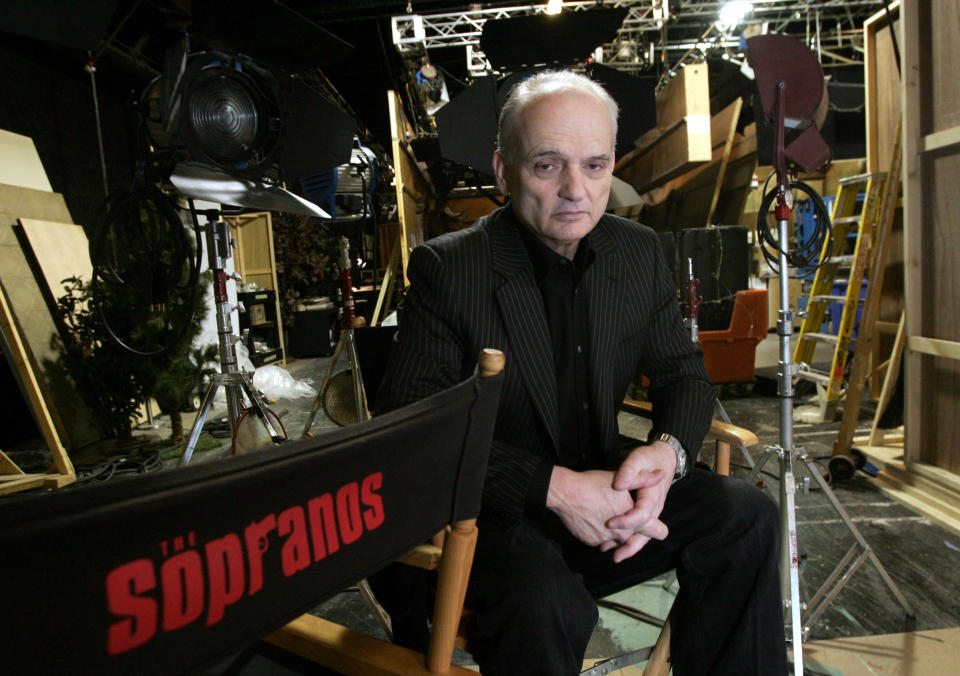 FILE - In this March 3, 2006 file photo, David Chase, creator and producer of the hit HBO series
