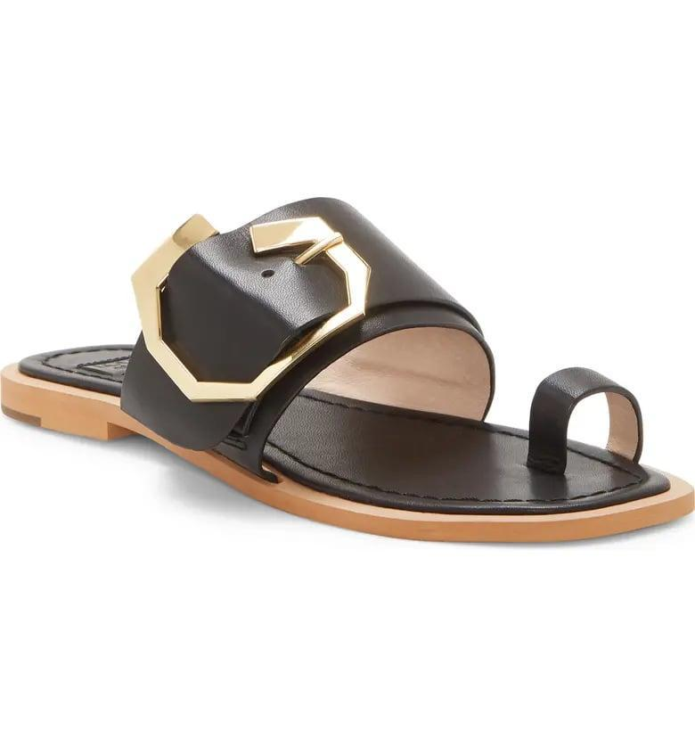 <p>How chic are these <span>Louise et Cie Altan Sandals</span> ($110)?</p>