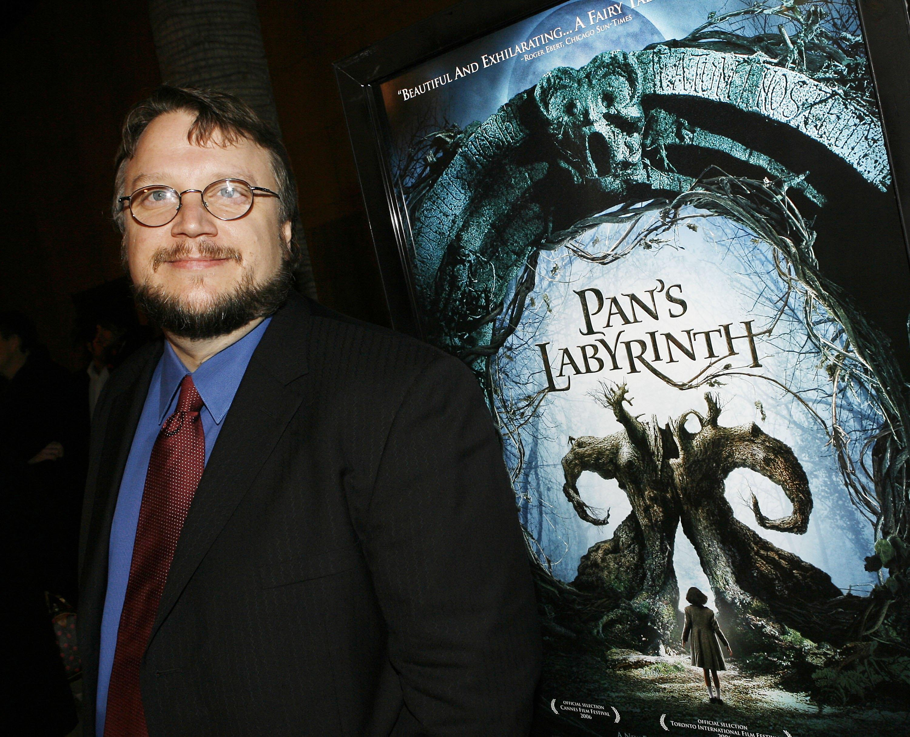 "LOS ANGELES - DECEMBER 18: Director Guillermo del Toro arrives at a special screening of Picturehouse's ""Pan's Labyrinth"" at the Egyptian Theater on December 18, 2006 in Los Angeles, California. (Photo by Kevin Winter/Getty Images)"