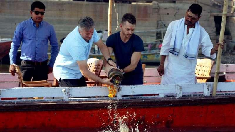 "Waugh visited Varanasi to scatter the ashes of his friend (Picture – PTI). Even after retiring from the game for more than 13 years now, former Aussie captain Steve Waugh makes frequent trips to India. His involvement with various charities has brought him back to this part of the world quite often.But last week, he visited Varanasi for a completely different reason – to scatter the ashes of his Sydney-based shoe-shiner friend.""It was a lifetime opportunity for me and I really wanted to visit that city. It has a very spiritual feeling. To have the honour and privilege of scattering the remains of Brian (Rudd), I feel great about it. He had a very tough life and didn't have a family. His last wish was to have ashes scattered in the Ganges. I am very glad to have done something for him and it was a celebration of his life,"" India Today quoted Waugh as saying."