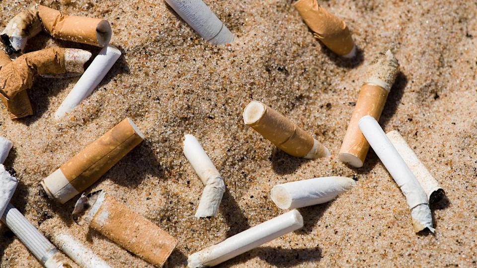 Cigarette butts are the single greatest source of ocean trash, it has been revealed. Source: File/Getty