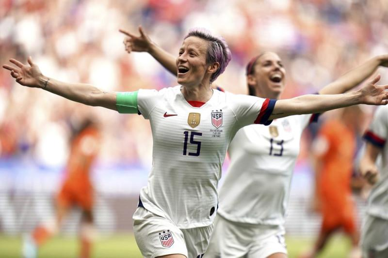 Megan Rapinoe | Press Association via AP Images