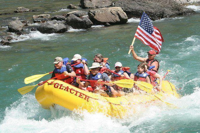 "<p><strong><a href=""https://www.viator.com/tours/Montana/Half-Day-Whitewater-Rafting-Trip/d22221-70248P1"" rel=""nofollow noopener"" target=""_blank"" data-ylk=""slk:Half Day Whitewater Rafting Trip"" class=""link rapid-noclick-resp"">Half Day Whitewater Rafting Trip</a></strong></p><p><strong>West Glacier, Montana </strong></p><p>Not for the faint of heart, this whitewater rafting trip is full of adventure. You'll head down Flathead River in Glacial National Park for an exciting trip through the rapids, all while getting incredible views of the park. It's a few hours long and you're bound to get a little wet, so only the most adventurous will take this on! </p>"
