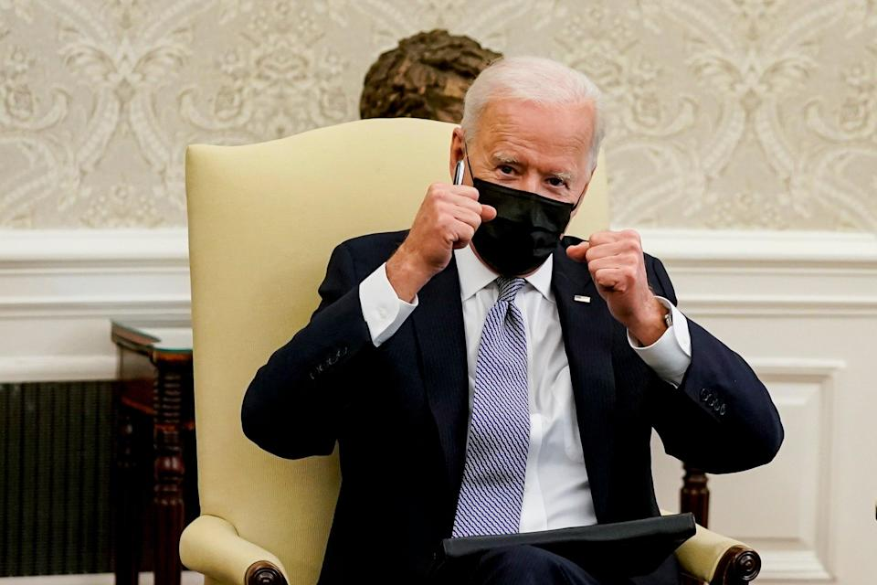 Joe Biden is hosting a virtual summit of 40 world leaders on April 22 and 23, to raise the stakes on global climate ambition  (EPA)
