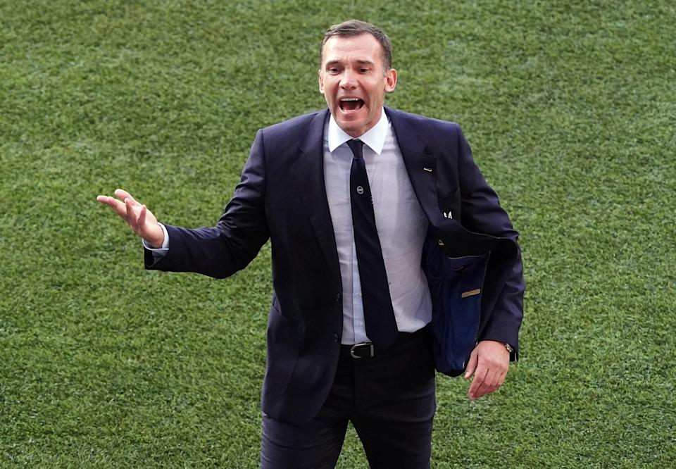 Andriy Shevchenko has stepped down as Ukraine manager (Andrew Milligan/PA) (PA Wire)
