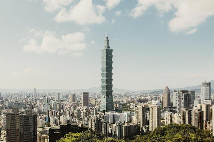 """<p><strong>Location:</strong> Taipei, Taiwan</p><p><strong>Height:</strong> 1,667 feet</p><p><strong>Completion Date:</strong> 2004</p><p>Taipei 101 """"adopts some of the vernacular architecture of the region where it's built,"""" Safarik says. """"Here you have a classic, stacked pagoda look, which is a common thing throughout Asia."""" Furthermore, the building has eight segments of eight floors each, a nod to the auspicious nature of the numeral 8 in the Chinese-speaking world.</p>"""