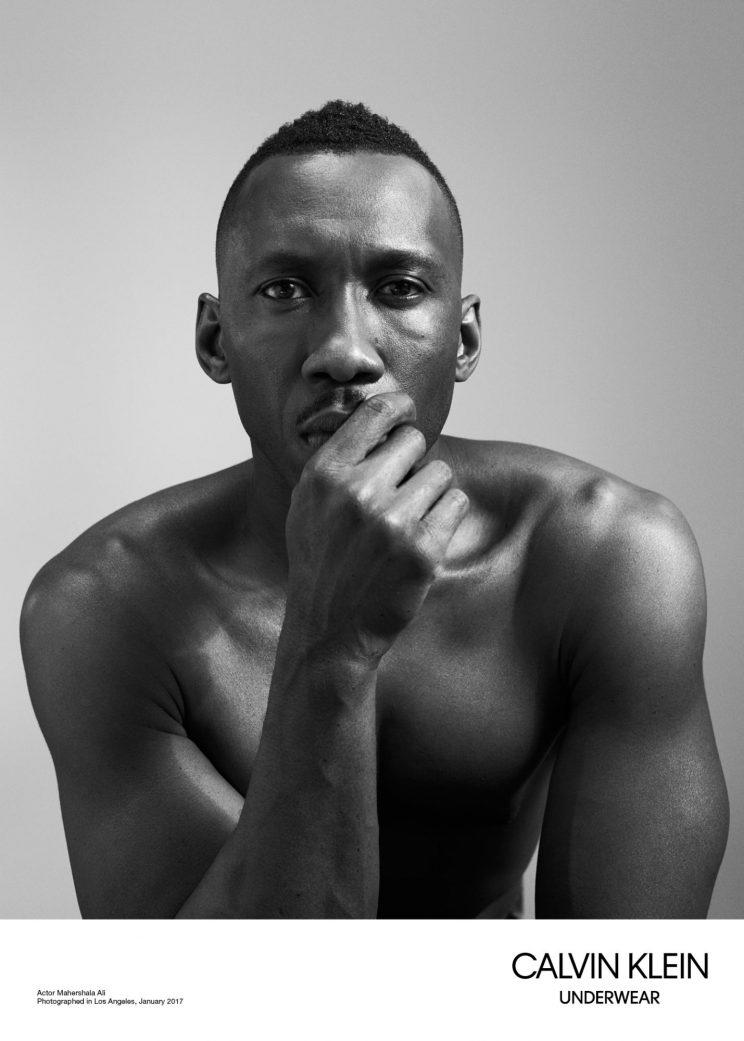 """438c61327c Mahershala Ali strikes a thoughtful pose for Calvin Klein. (Photo  Willy  Vanderperre Calvin Klein). More. """"The performances of these actors in  Moonlight ..."""