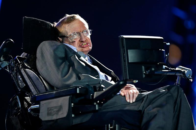 British physicist Professor Stephen Hawking died in March aged 76: Matt Dunham/AP