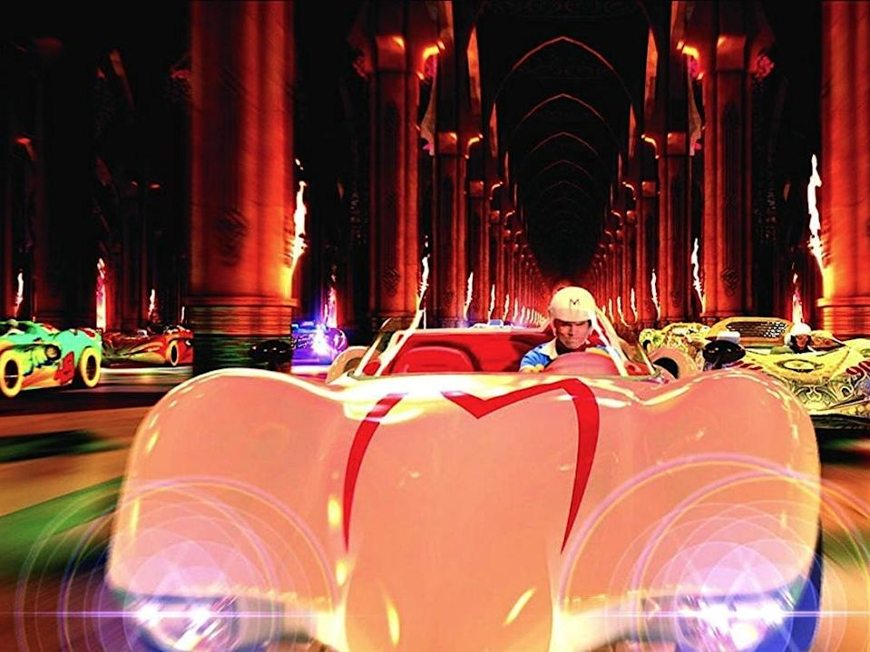 The Mach 5 is one of the most iconic cars in pop-culture history.