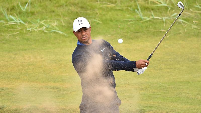 Follow Speith, McIlroy and Woods around Carnoustie
