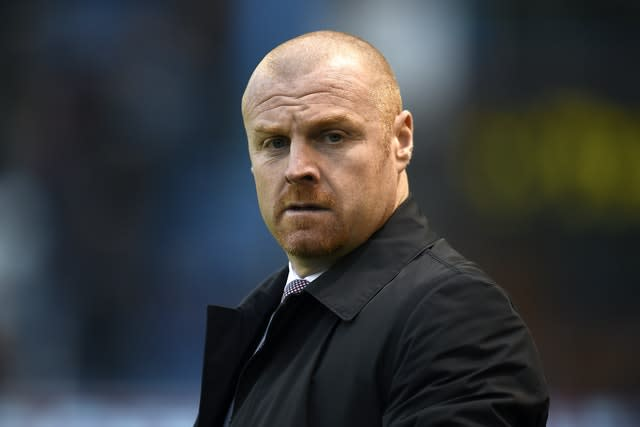 Sean Dyche has been keeping close tabs on the Burnley squad (Clint Hughes/PA)