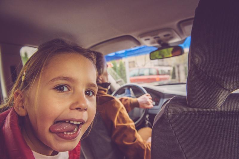 Parents are getting distracted when driving with children [Photo: Getty]
