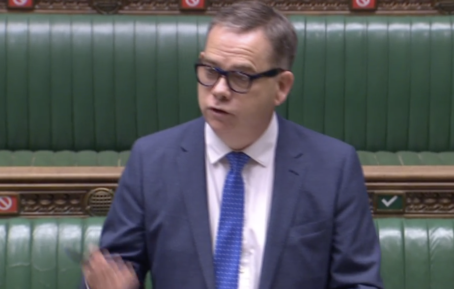 Nigel Adams said the government is taking reports of organ harvesting in China 'very seriously'. (Parliamentlive.tv)