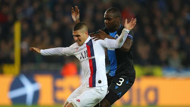 Marco Verratti remains sidelined and will not be available for selection when Paris Saint-Germain take on Nantes in LIgue 1.