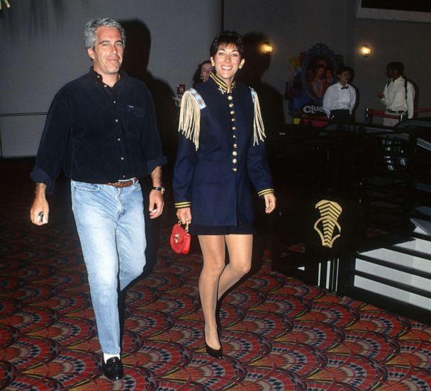 PHOTO: Jeffrey Epstein and Ghislaine Maxwell attend an event in New York City, June 13, 1995. (Patrick McMullan via Getty Images, FILE)