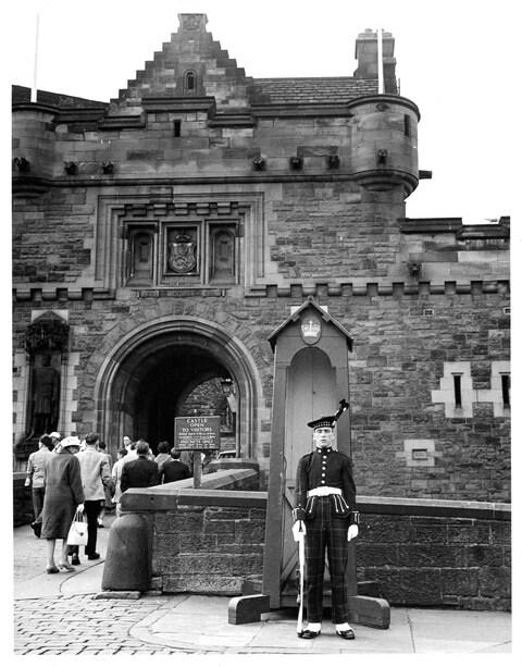 On guard at Edinburgh Castle - Credit: 2013 Getty Images/Lionel Green