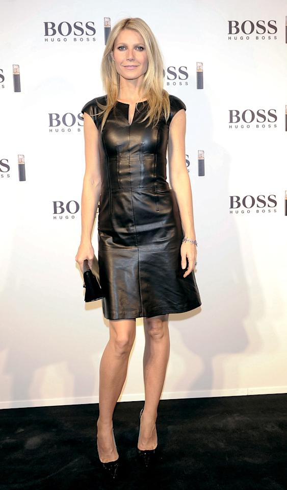 MADRID, SPAIN - OCTOBER 29:  Gwyneth Paltrow presents 'Boss Nuit Pour Femme' fragrance at the Palacio de Neptuno on October 29, 2012 in Madrid, Spain.  (Photo by Fotonoticias/WireImage)