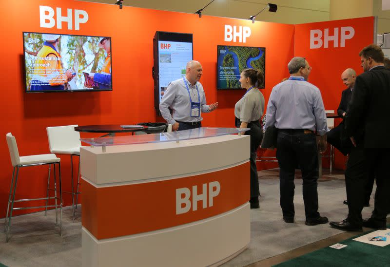 BHP sets out targets to cut own emissions by 30% by financial year 2030