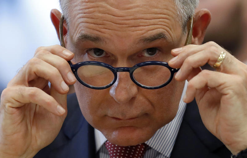 EPA Emails Shed Light on Pruitt's Plan to Debate Climate Change