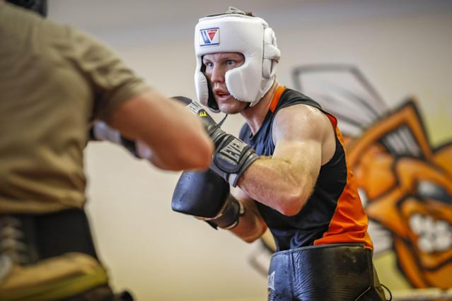 Jeff Horn (18-0-1, 12 KOs) has the opportunity to erase any doubts about his abilities on Saturday vs. Terence Crawford. (EFE)