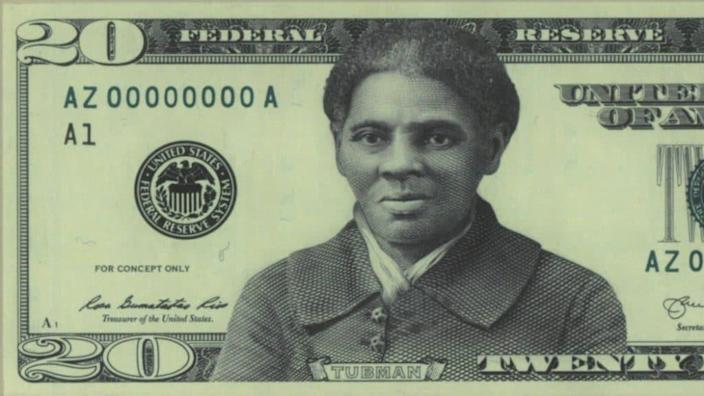 Harriet Tubman's portrait to the front of the $20 bill. (Photo: U.S. Treasury Department)