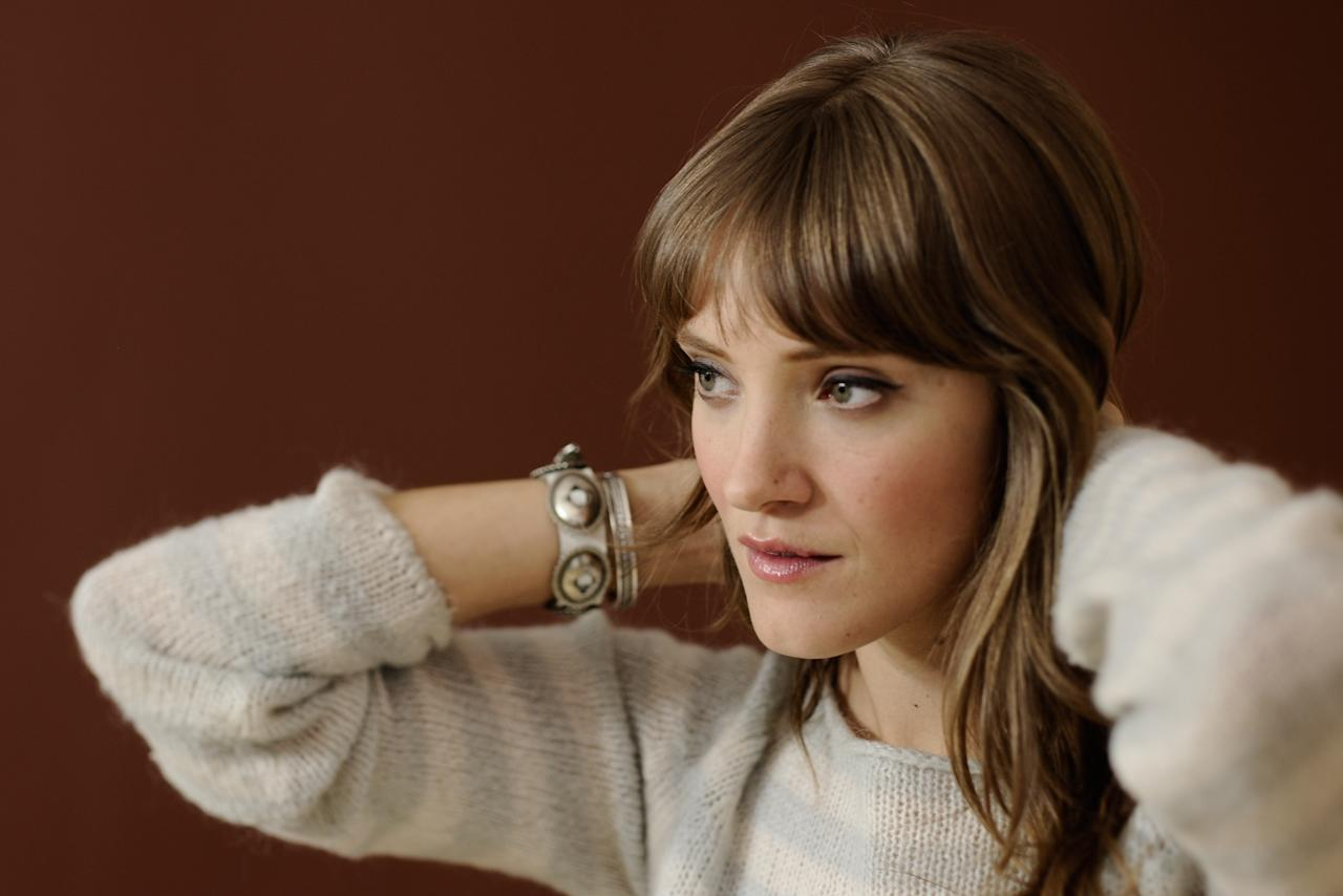 PARK CITY, UT - JANUARY 24:  Actress Alexia Rasmussen poses for a portrait during the 2012 Sundance Film Festival at the Getty Images Portrait Studio at T-Mobile Village at the Lift on January 24, 2012 in Park City, Utah.  (Photo by Larry Busacca/Getty Images)