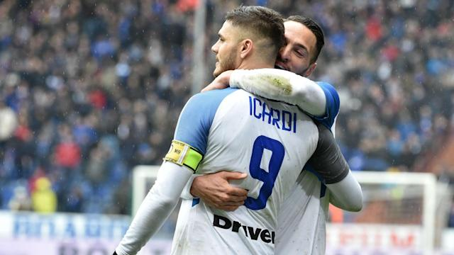 Inter dismantled Sampdoria in Genoa on Sunday, as Mauro Icardi returned to his former club and scored four in an emphatic win.